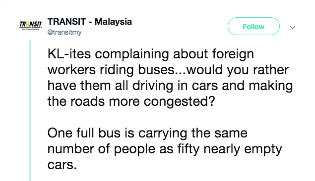 Image from Twitter @transitmy