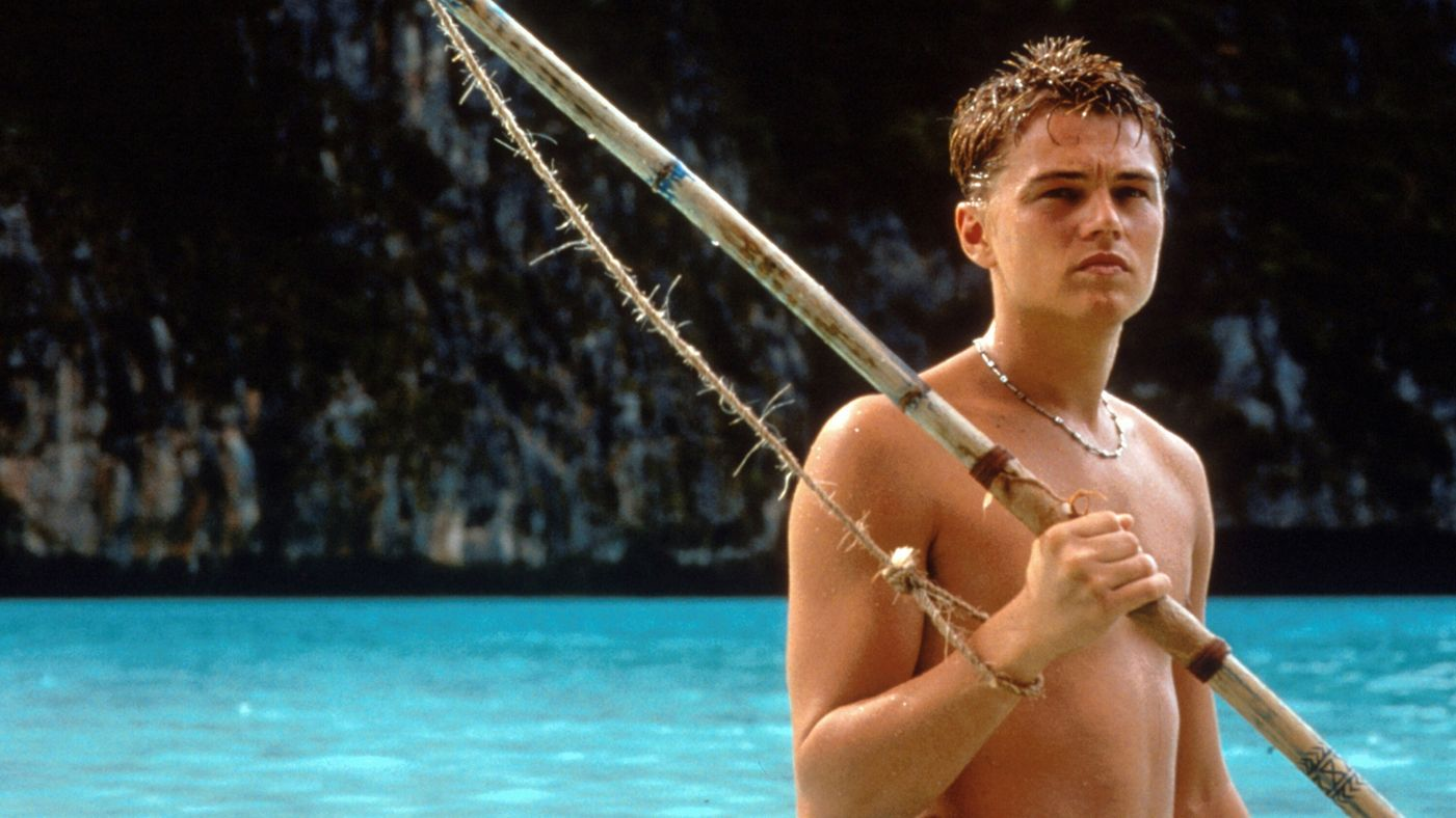A scene from 'The Beach' starring Leonardo DiCaprio.