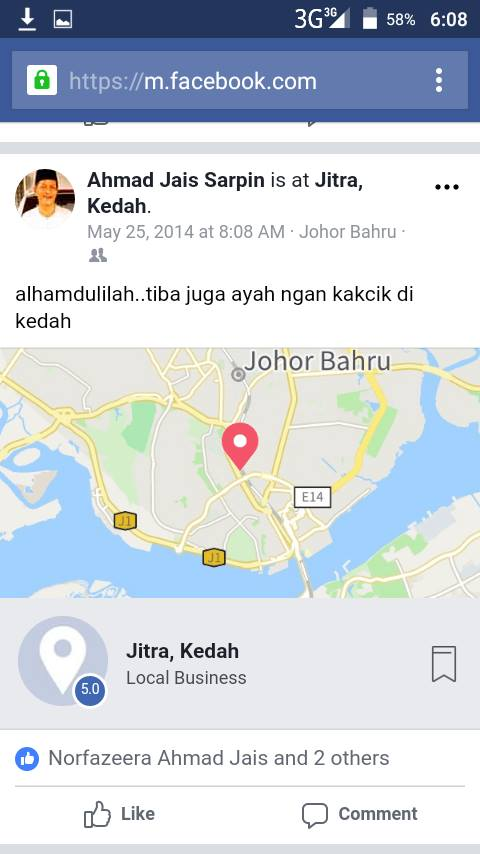 Image from Facebook Nur Fadilah