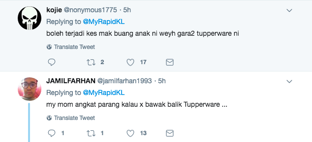 Image from Twitter @MyRapidKL