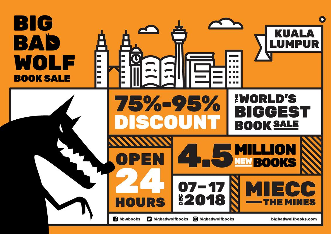 The Big Bad Wolf Book Sale Is Back For Its 10th Year Running