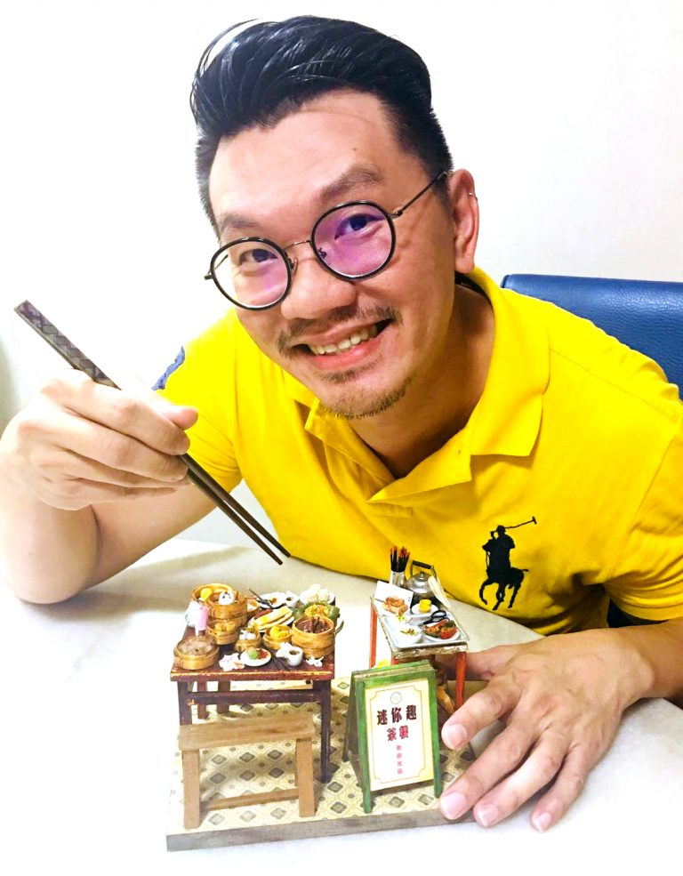 Eric Siow is a professional graphic designer and pastry chef.