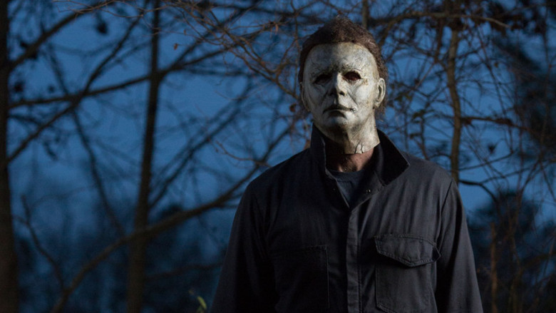 The Shape in the 2018 sequel 'Halloween'.