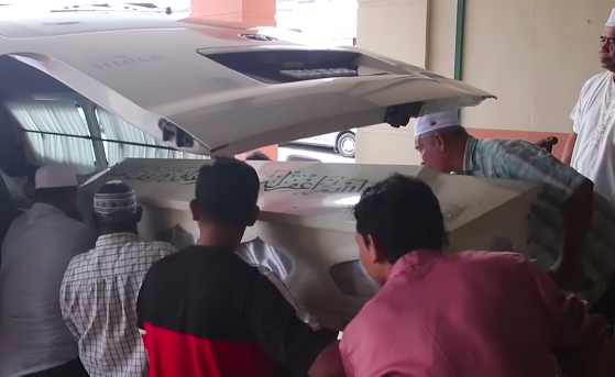 The bodies of the victims have been sent for burial at the Parit Buntar Muslim cemetery.