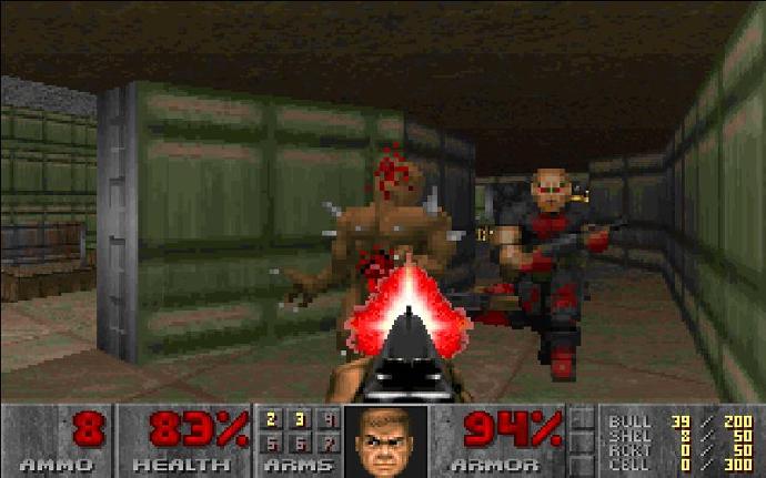 doom '90s pc games