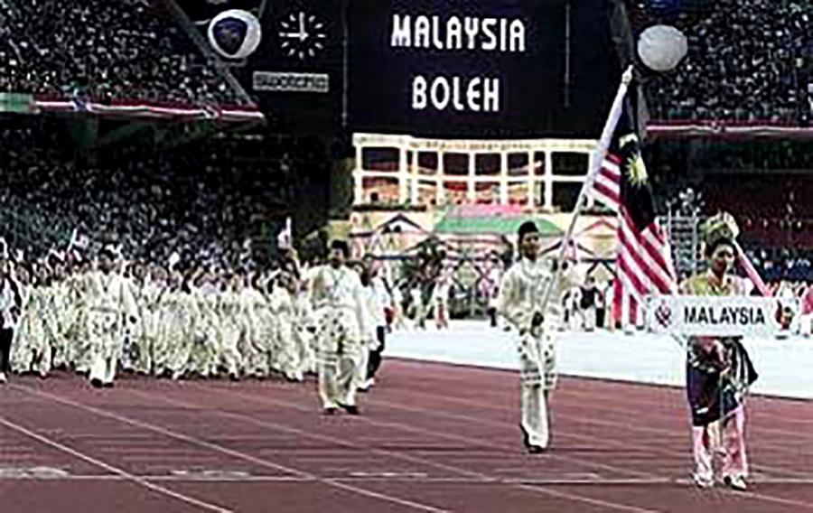 1998 Commonwealth Games in Kuala Lumpur, Malaysia