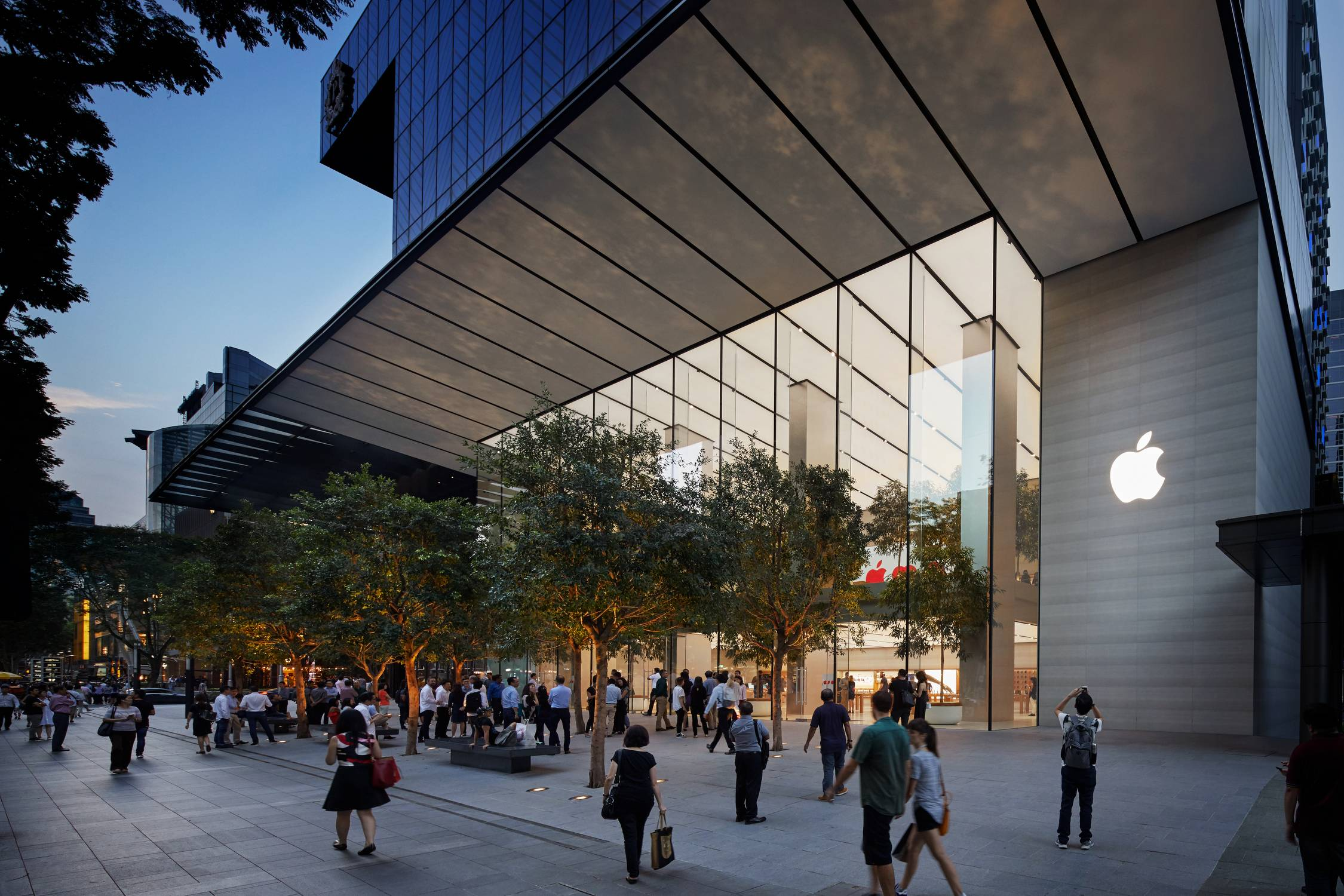Apple Store at Orchard Road, Singapore.