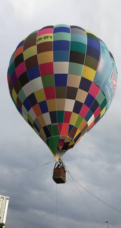 watsons get active fest 2018 hot air balloon