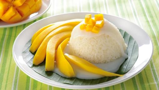 Resipi Pulut Mangga Ala Thai