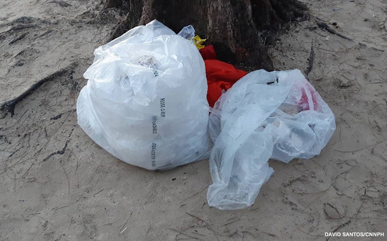 Garbage in Boracay
