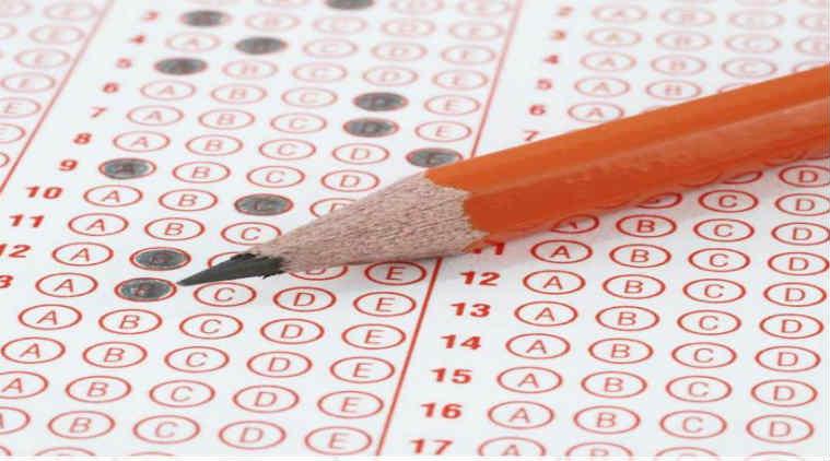 mcq exam answer sheet