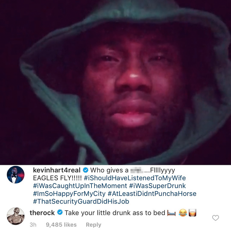 "Dwayne ""The Rock"" Johnson insults Kevin Hart"
