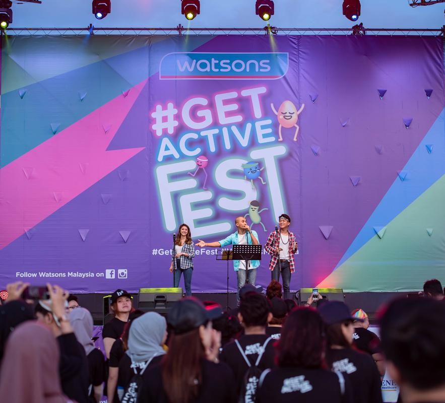 watsons get active fest 2018 arja lee performance