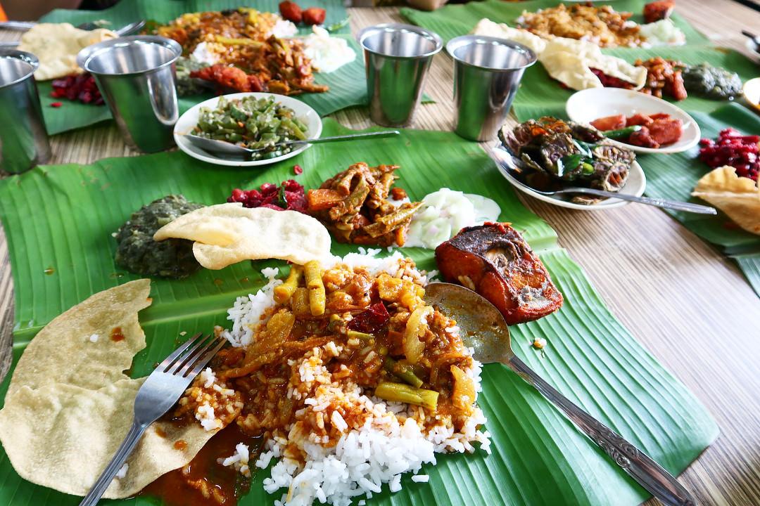 Vishal Food And Catering Banana Leaf Rice