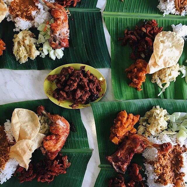 Ravi's Banana Leaf Rice
