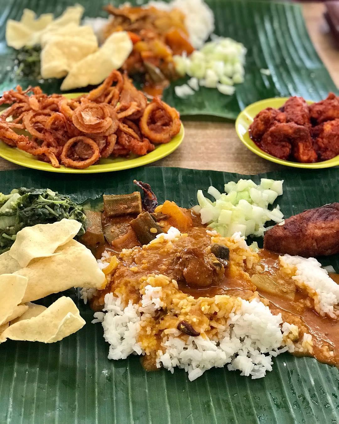 Kanna Curry House Seksyen 17 Banana Leaf Rice