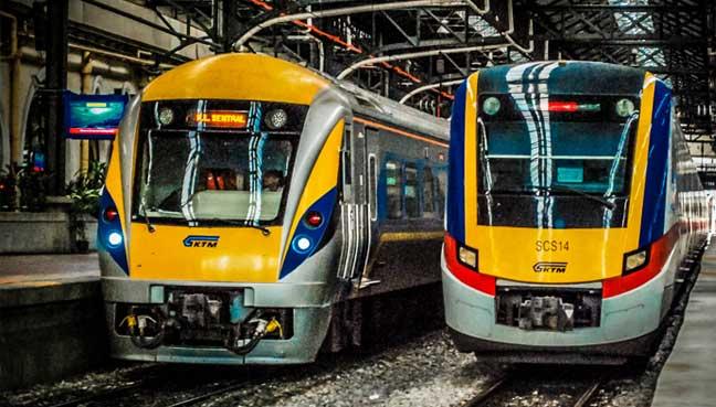 ktmb ktm komuter malaysia train