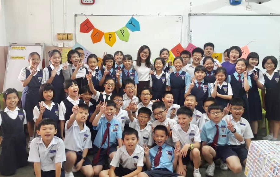 SJKC Tsun Jin Kuala Lumpur students and teacher