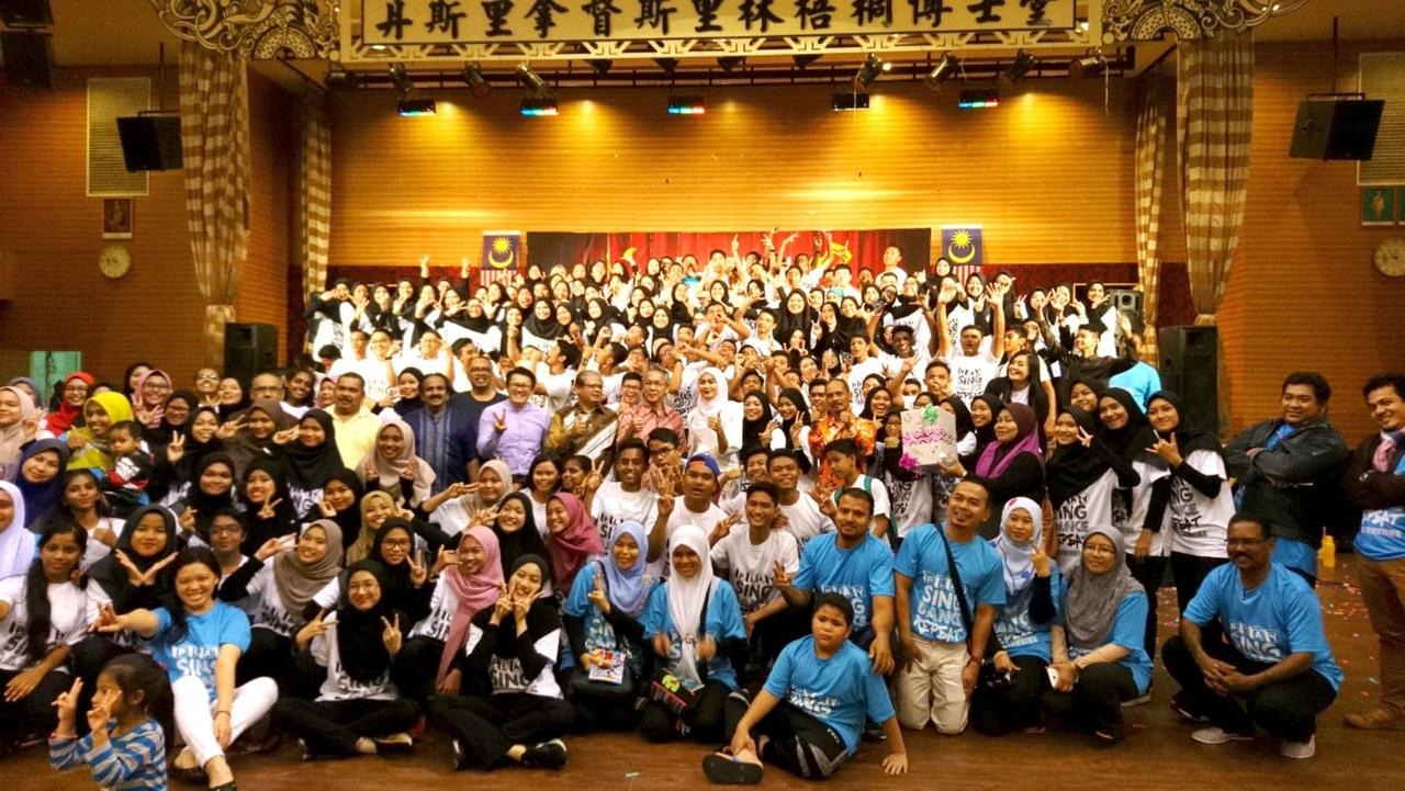 SMK Sulaiman musical performance students