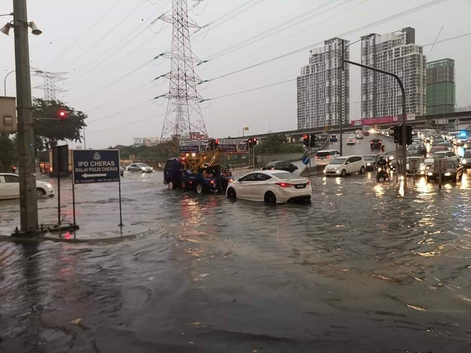 Flash flood in KL