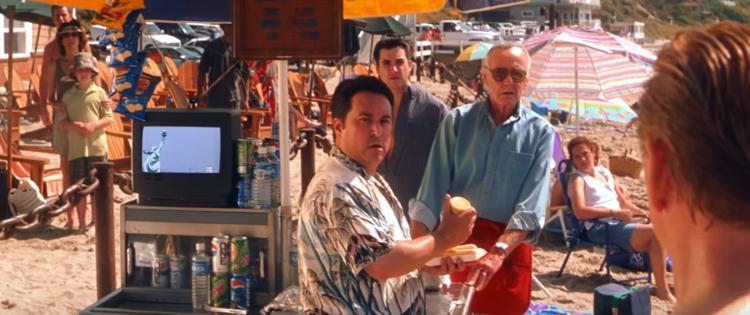 Stan Lee cameo on X-Men (2000).
