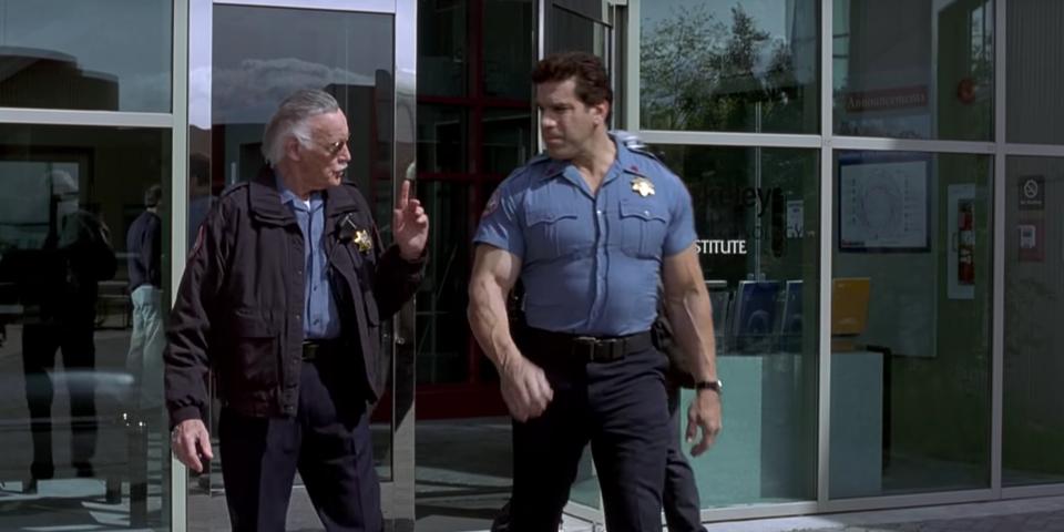 Stan Lee cameo in Hulk (2003).
