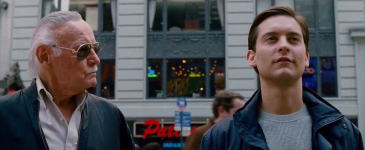 Stan Lee cameo in Spider-Man 3 (2007)