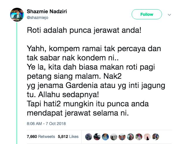 Image from Twitter @shazmiejo