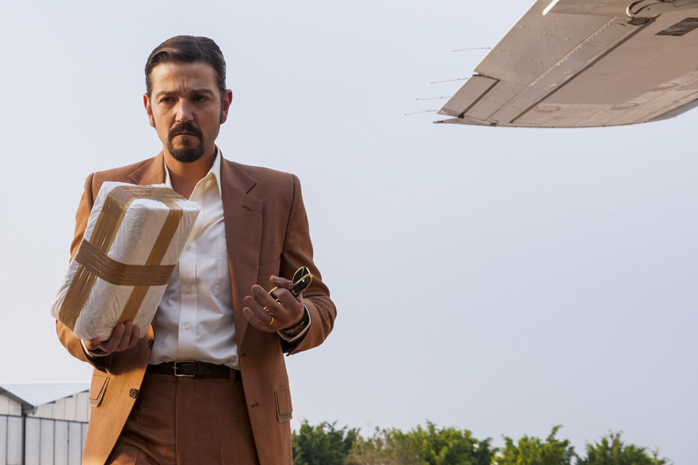 Diego Luna as Miguel Ángel Félix Gallardo in 'Narcos: Mexico'
