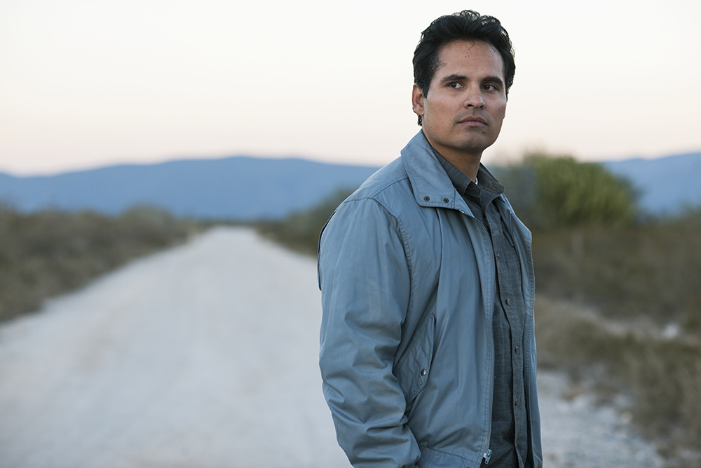 Michael Pena as Agent Kiki Camarena in Narcos: Mexico