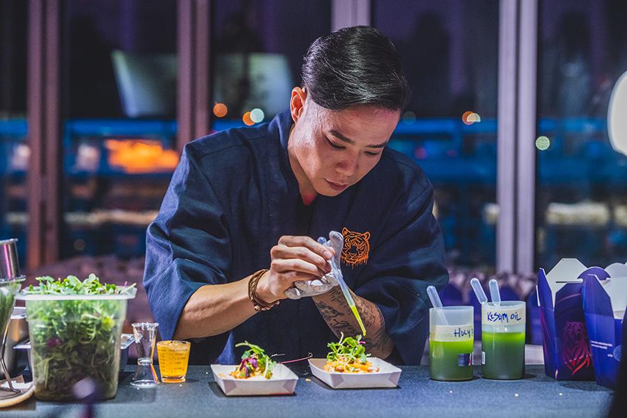 Malaysian chef Jun Chan.