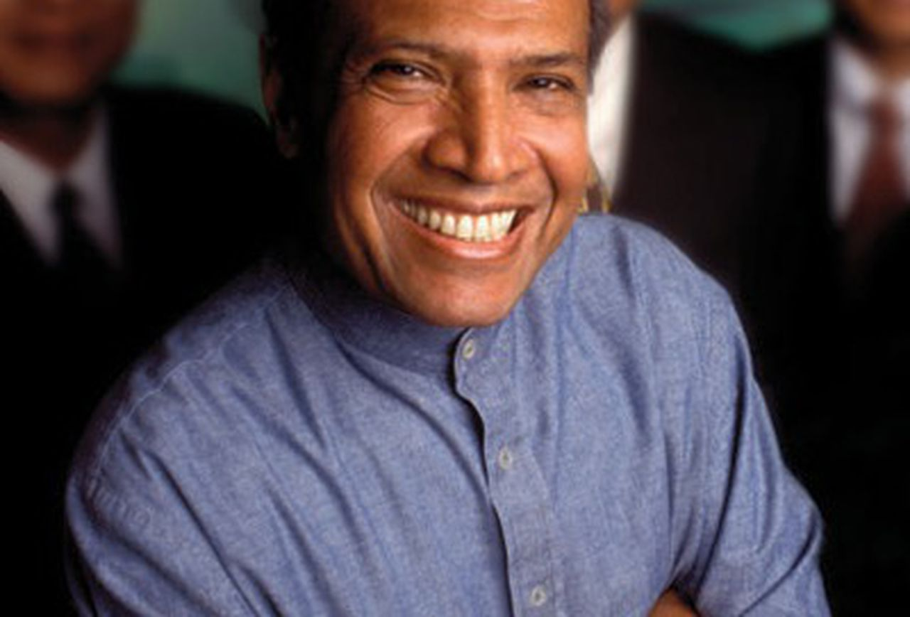 Malaysian media and telecommunications tycoon T. Ananda Krishnan