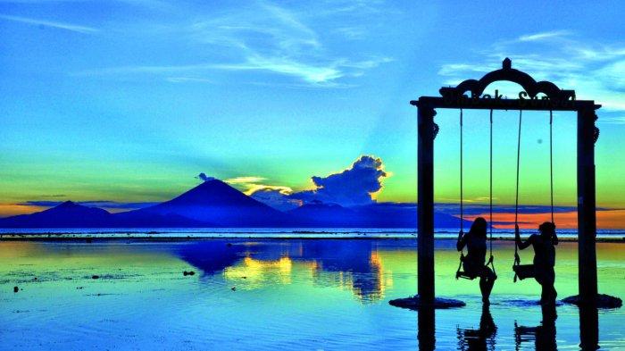 Gili Trawangan in lombok indonesia
