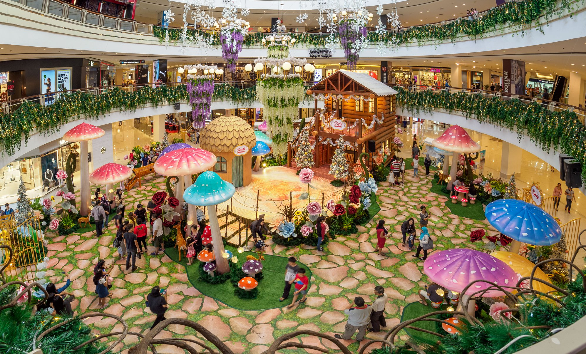 This Mall In Penang Just Turned Itself Into A Magical ...
