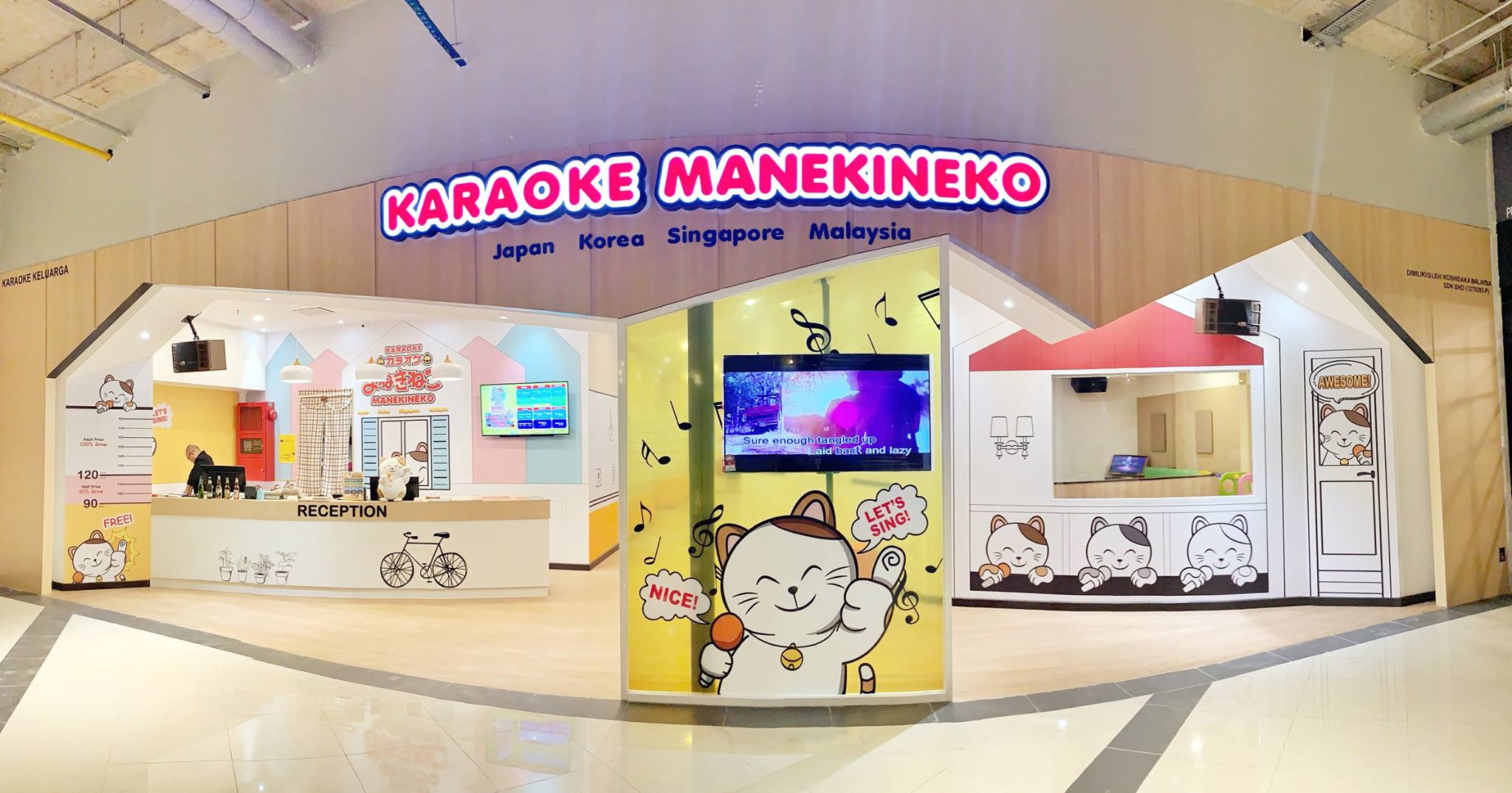 Image from Karaoke Manekineko Malaysia Facebook