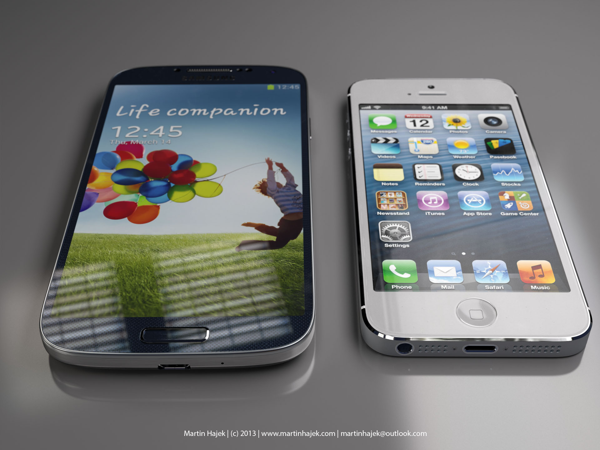 [VIDEO/PICS] iPhone 5S vs Galaxy S4: Who's The Boss?
