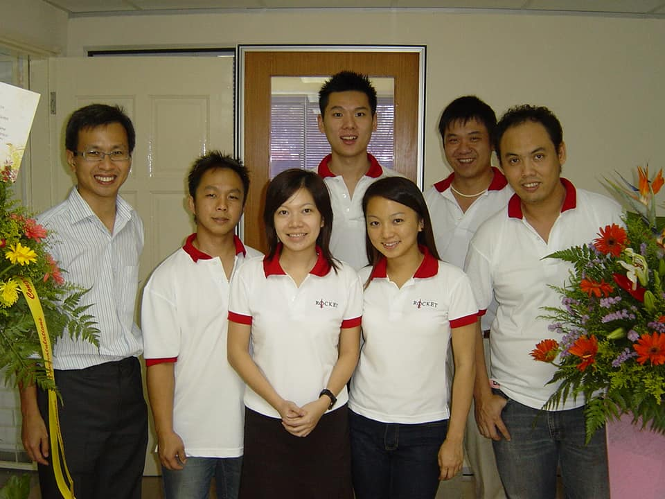 """Opening of Damansara service centre back in 2007 before the big change in 2008,"" Yeoh wrote on Facebook."