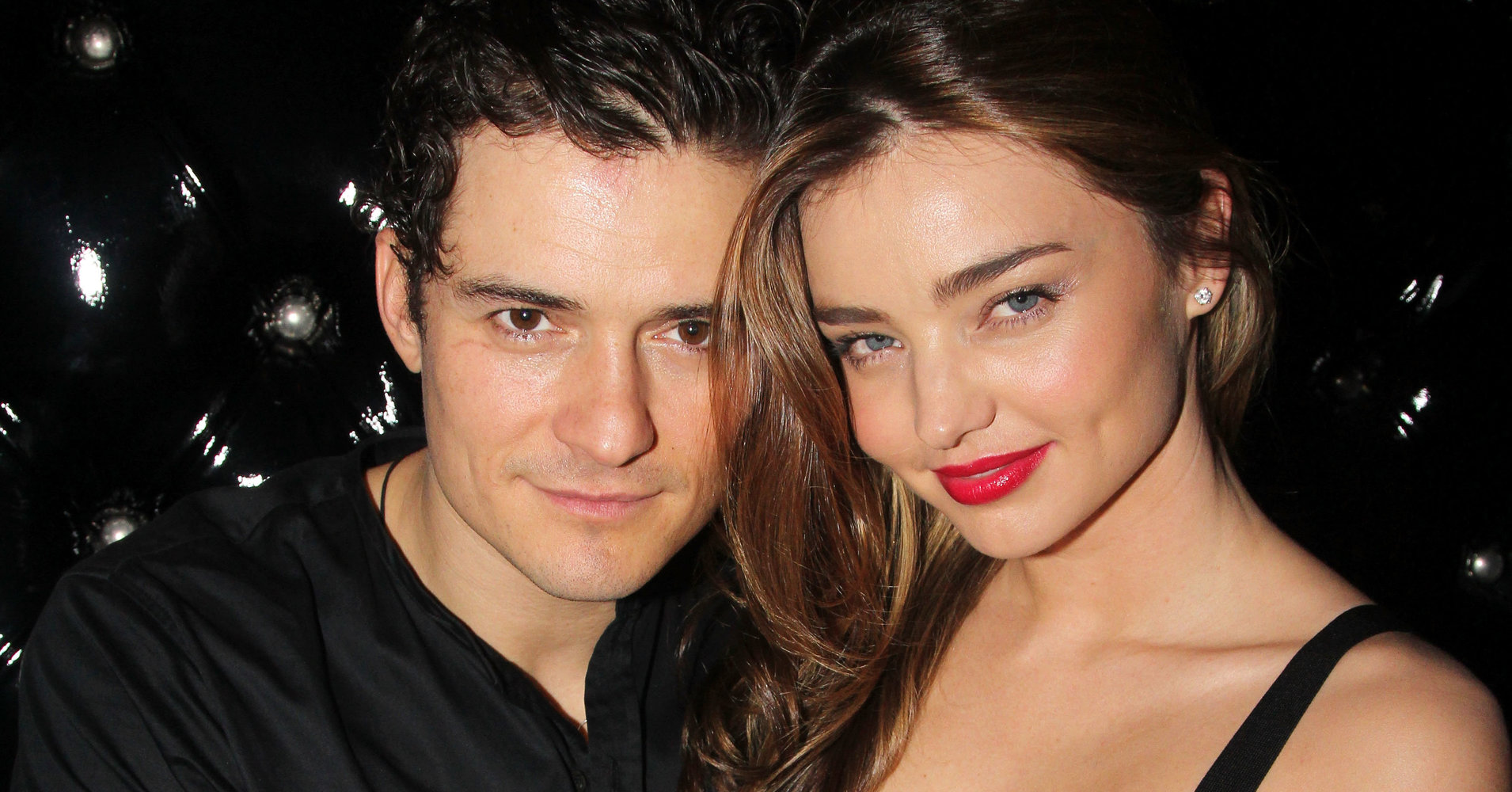 Miranda Kerr with her ex-husband Orlando Bloom.