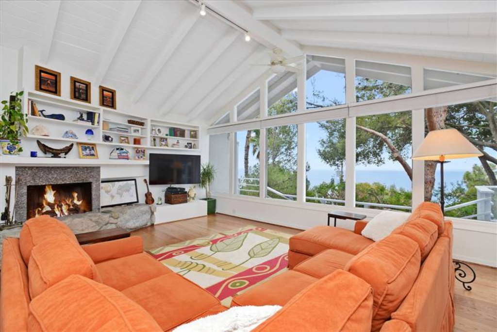A snapshot of Miranda Kerr's home in Malibu.