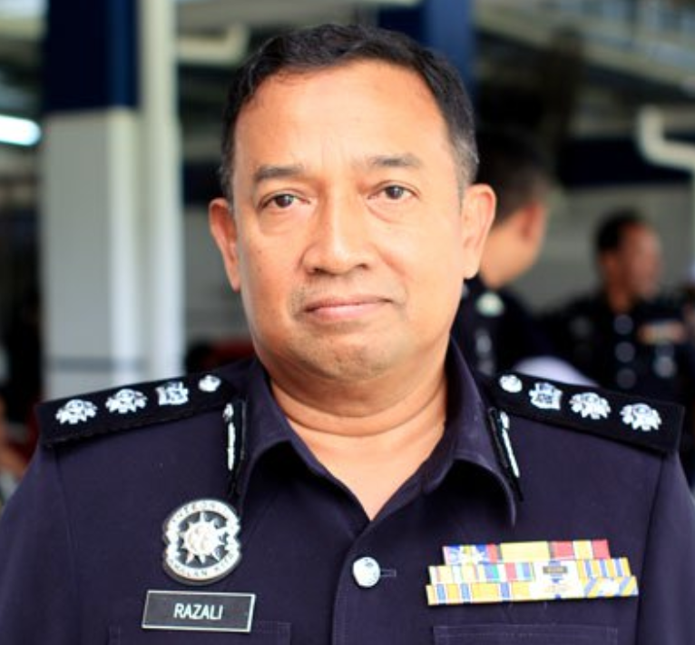 Kuala Kangsar district police chief ACP Razali Ibrahim