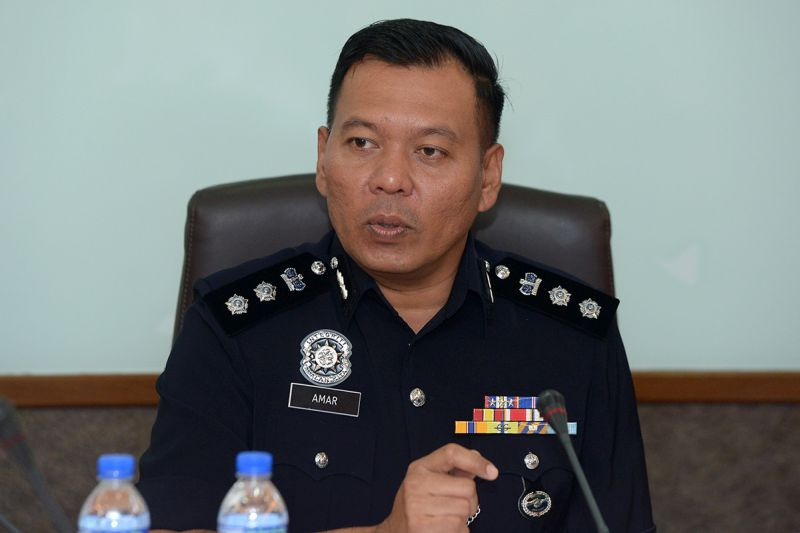 South Klang police chief Assistant Commissioner Shamsul Amar Ramli.