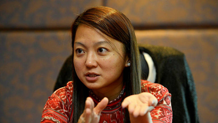 Deputy Minister of Women, Family, and Community Development Hannah Yeoh.