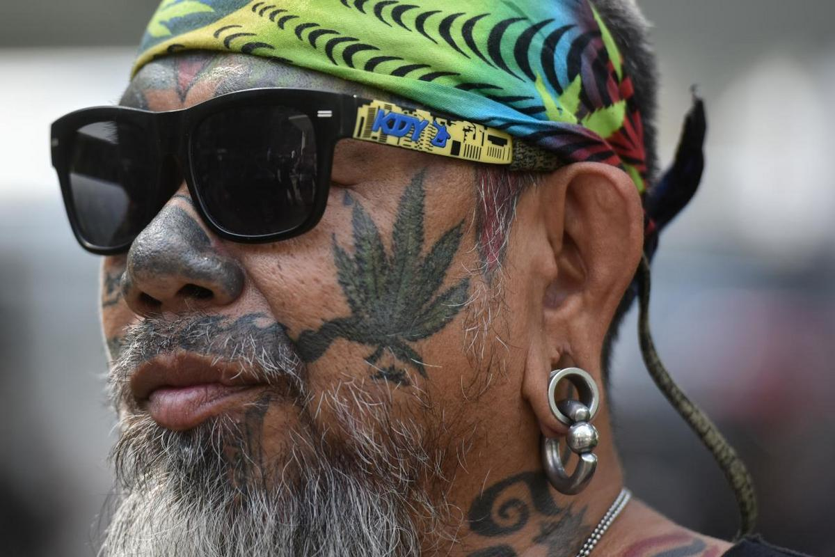 thai person activist marijuana tattoo