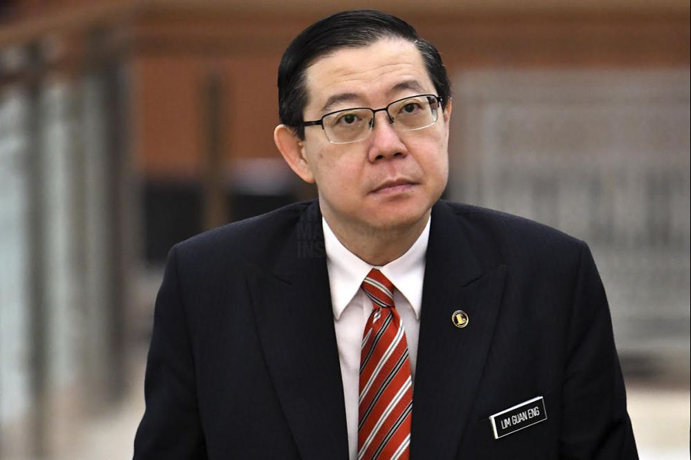 Finance Minister Lim Guan Eng.