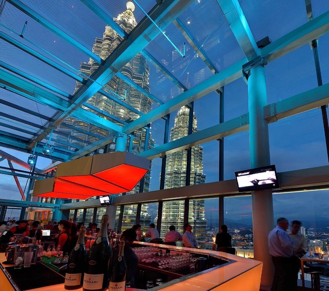 Marini's on 57 Rooftop Bars Kuala Lumpur