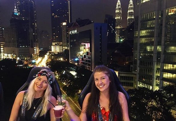 Image from Dinner In The Sky Malaysia (Facebook)