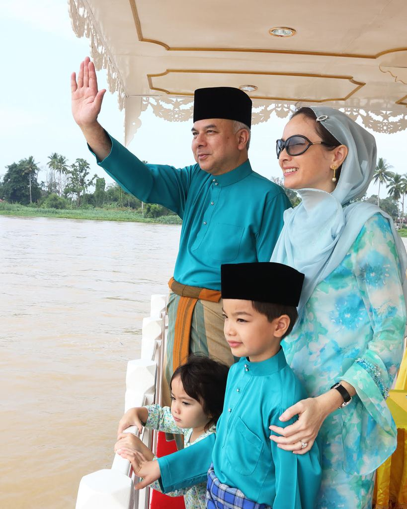 Image from Sultan Nazrin Shah