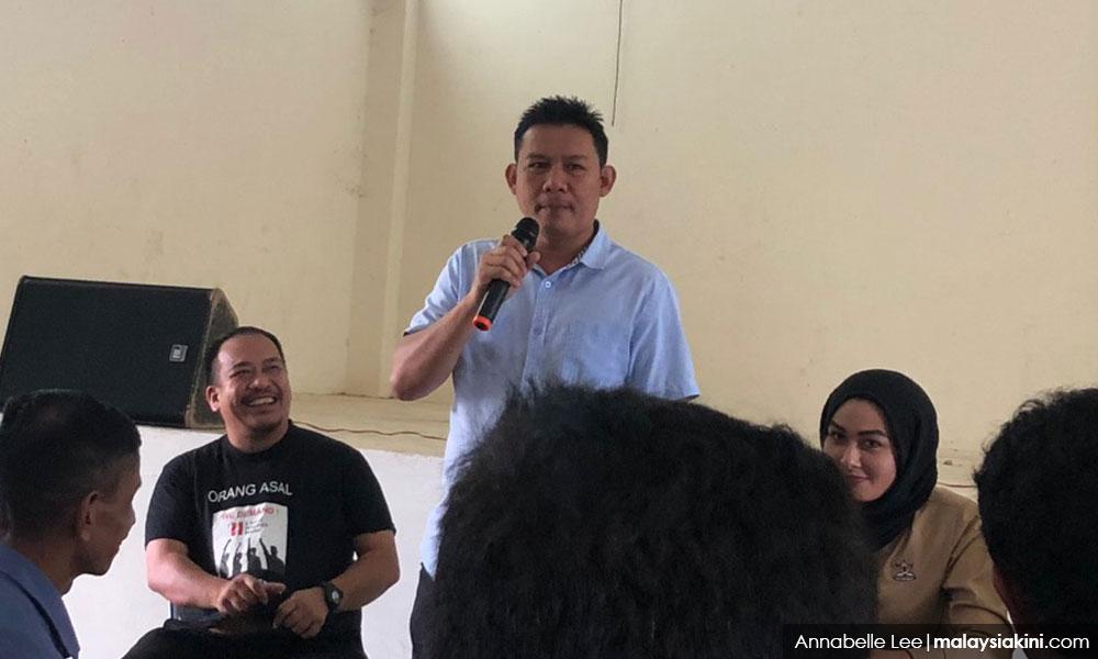 PKR senator Bob Manolan Mohd