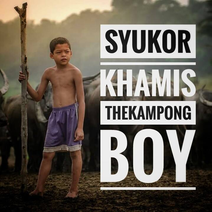 Image from Facebook Syukor Khamis - Kampong Boy