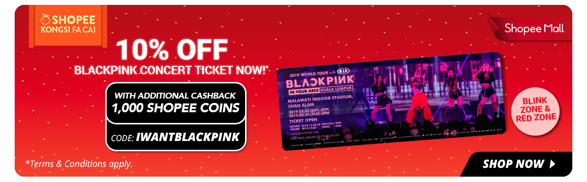 Epic Flash Sales, Discounted BLACKPINK Concert Tickets, And 5 Other